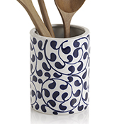 Bold Vine Utensil Holder