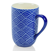 Blue Bat Trang Mountain Mugs