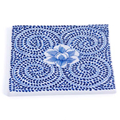 Blue Meadow Trivet