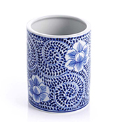 Blue Meadow Small Utensil Holder - Vase