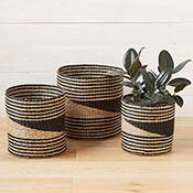 Sea Grass Balance Baskets