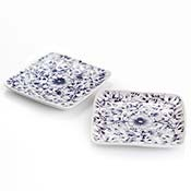 Northern Wildflower Set of 2 Dessert Plates