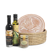 Bird of Peace Bread Warmer Gift Basket