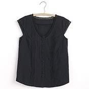 Lacy Shirt - Black
