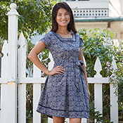 charlotte dress blue natural alt