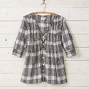 Favorite Tunic - Black & White Stripe