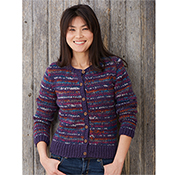 Jewel Stripe Cardigan