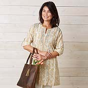 Kamini Tunic - Golden