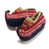 Kids Knit Slippers - Medium (13-1)