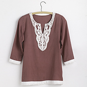 Seaside Tunic - Plum