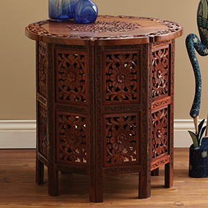 Shesham Side Table