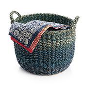 Ocean Tones Basket