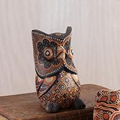 Carved Batik Owl